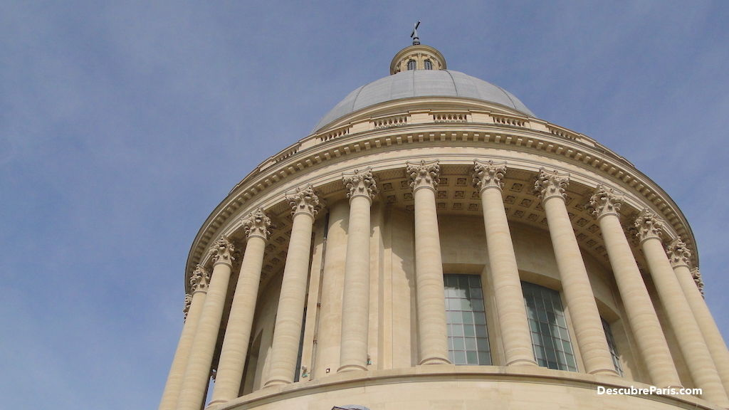 Imagen presenting the Dome of the Pantheon in Paris