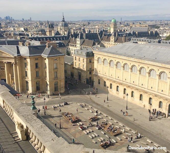 View from the top of the Panthéon in Paris, Photos ©Descubre París