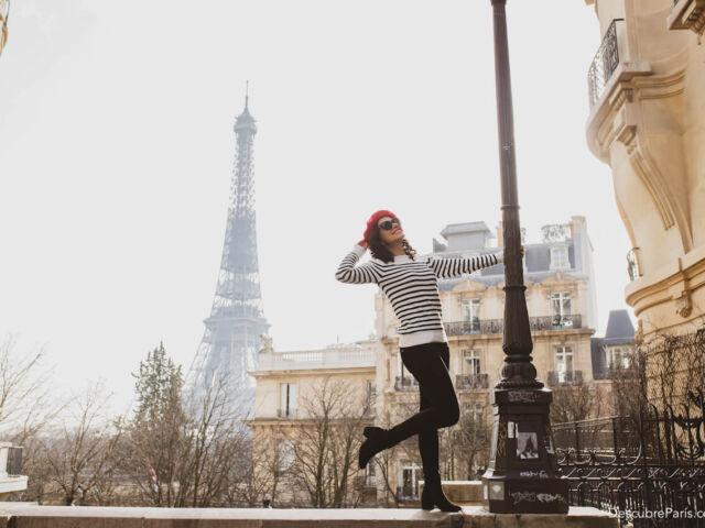 Ilustrar la moda de la marinera francesa en Paris